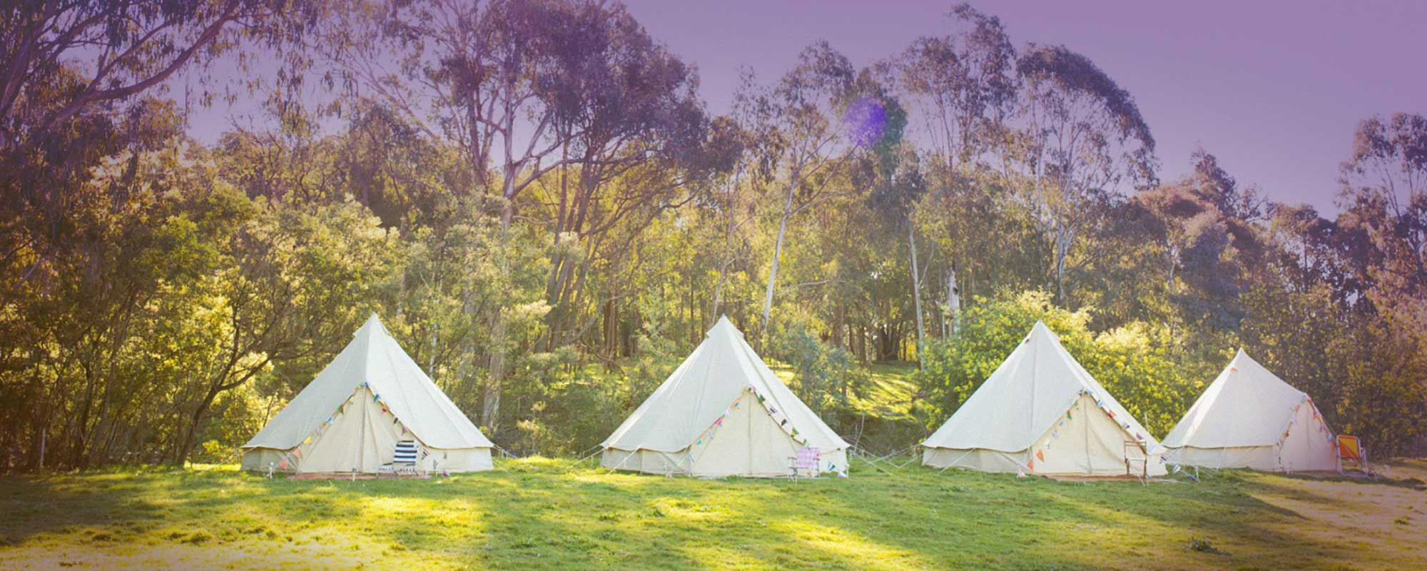 "Now Offering New Events, Activities & Premium ""Glamping"""